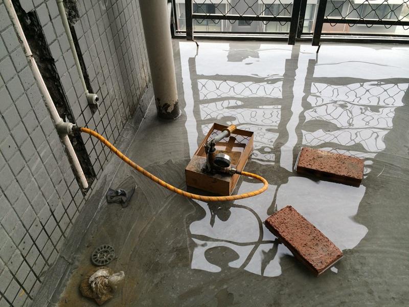 供水管加压测试0.8兆帕(MPa)无渗漏