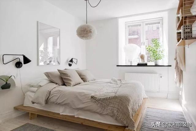 失眠睡不着?装修时卧室这6点设计小技巧助你睡得更香